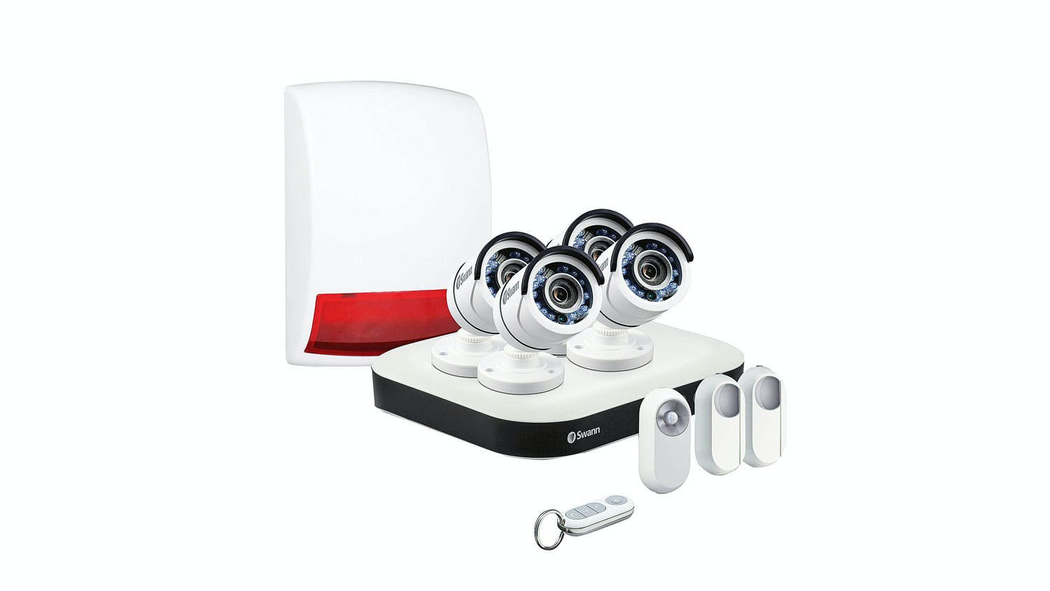 Swann smart hd home security system kit harvey norman new zealand solutioingenieria Choice Image