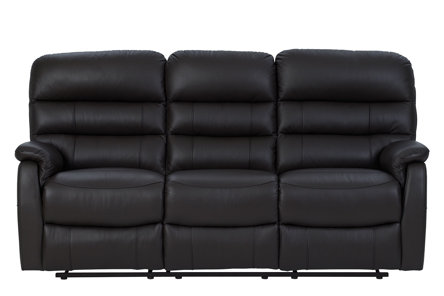 Luna 3 Seater Leather Recliner Sofa By Vivin Harvey Norman New  ~ Three Seater Recliner Sofa