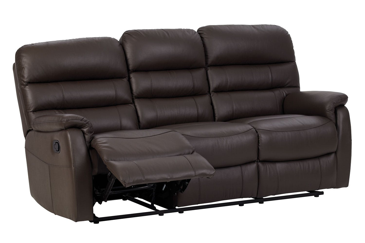 Luna 3 Seater Leather Recliner Sofa By Vivin Harvey