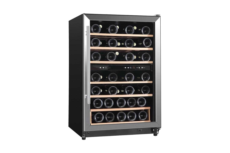 belling 45 bottle dual zone wine cooler