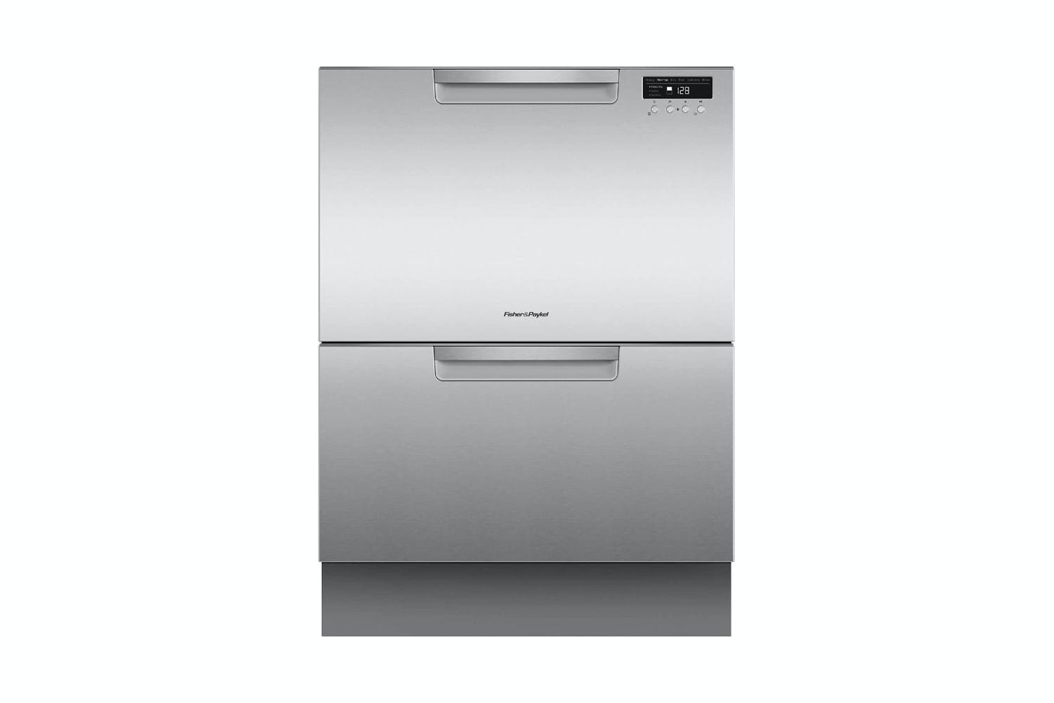 Image of Fisher & Paykel 14 Place Setting Double Dishdrawer - Stainless Steel