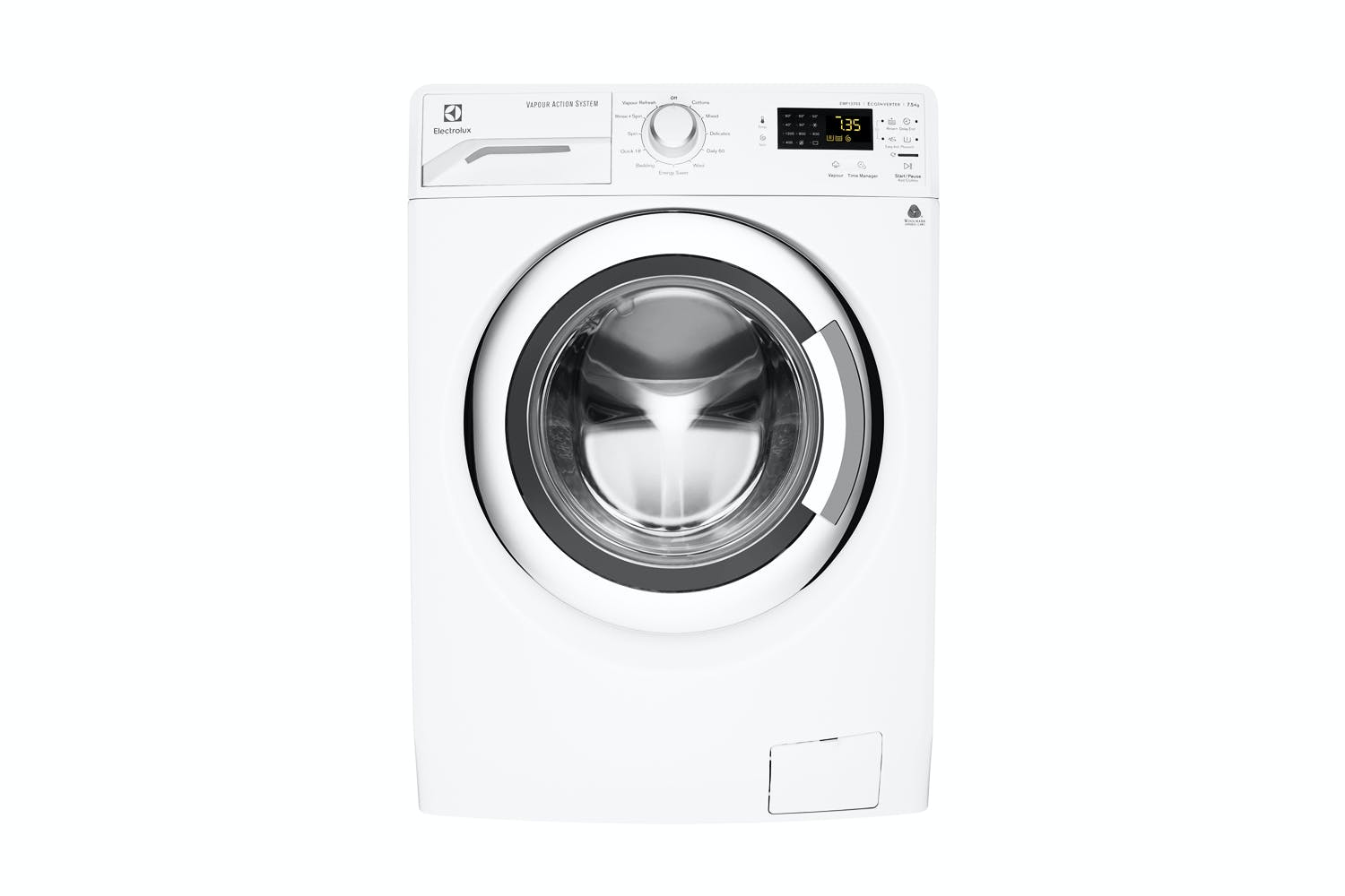 Front Load Washer Dimensions Electrolux 75kg Front Loading Washing Machine Harvey Norman New