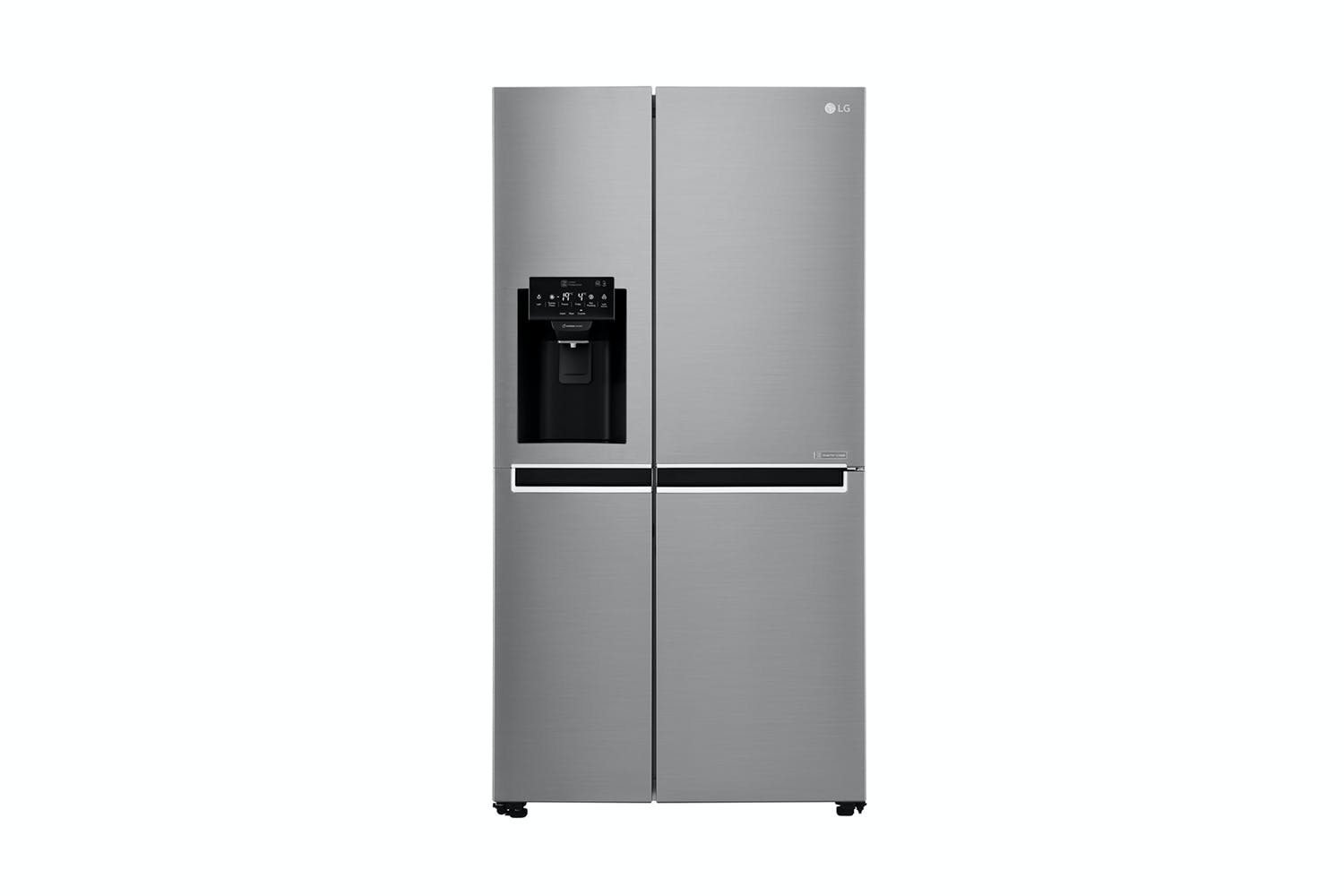 lg 668l side by side fridge freezer harvey norman new zealand. Black Bedroom Furniture Sets. Home Design Ideas