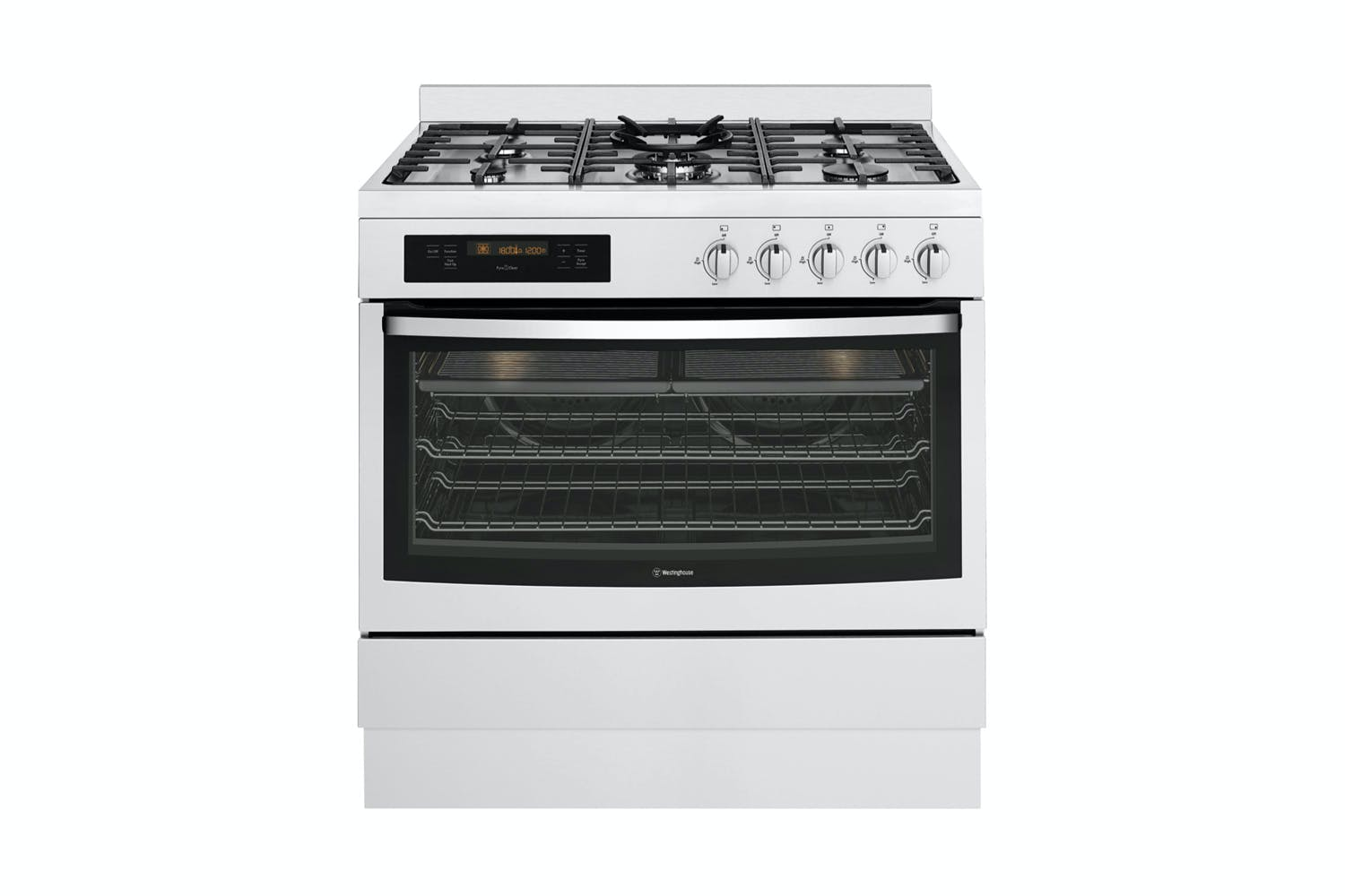 Westinghouse 90cm Pyrolytic Oven With Gas Cooktop Harvey