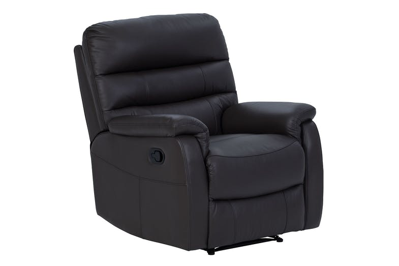 Luna leather recliner chair by vivin harvey norman new for Boys lounge chair
