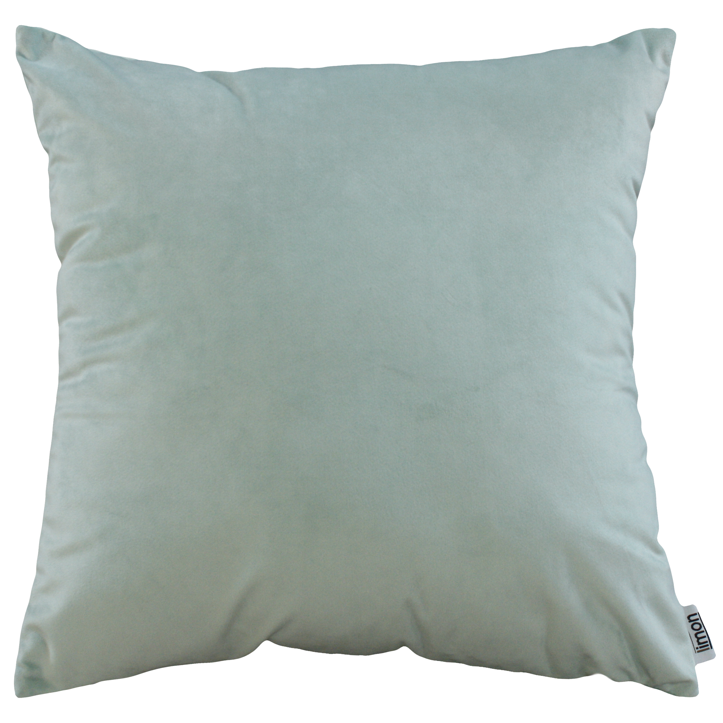 Duck Egg Blue Emperor Velvet Cushion by Limon