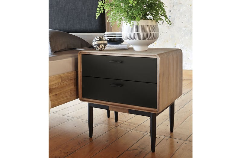 Alba Bedside Table by John Young Furniture | Harvey Norman ...