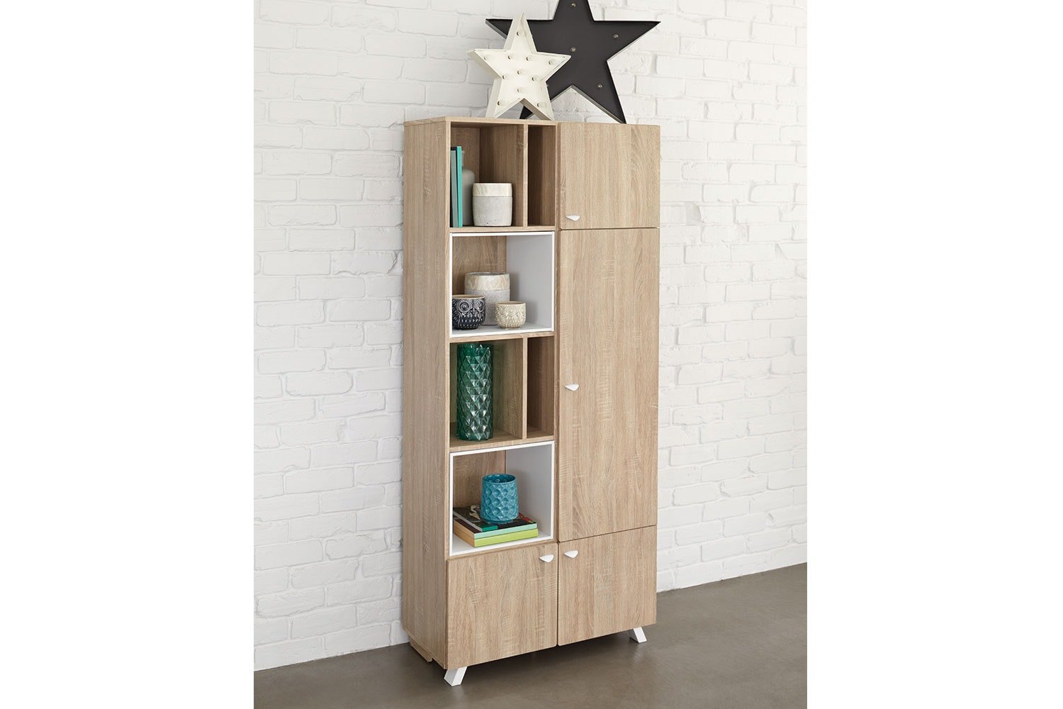 Maali Bookcase by Stoke Furniture