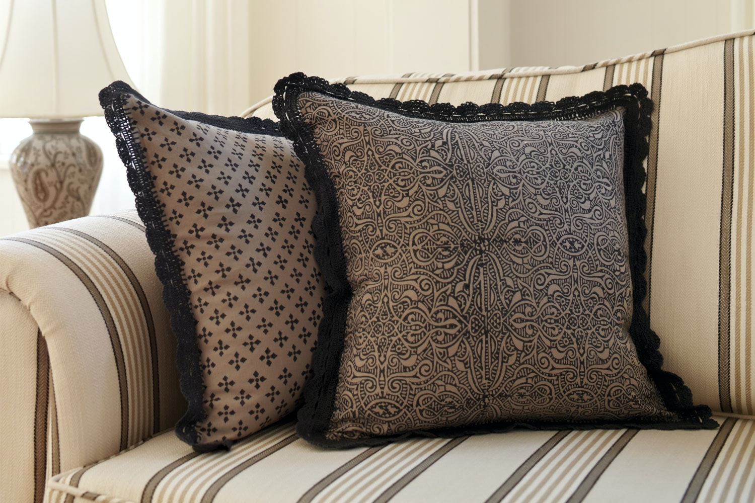 Madeliene Square Cushion by Mulberi