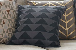 Matterhorn Square Cushion by Limon