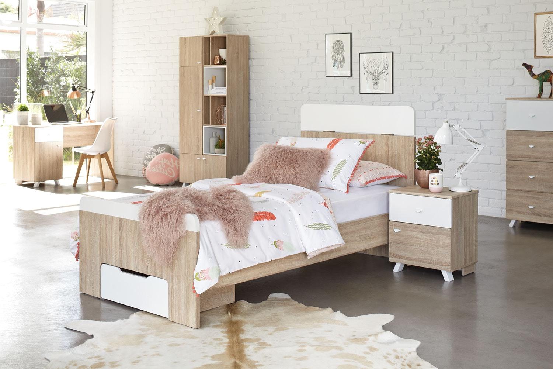 Maali Single Bed Frame by Stoke Furniture