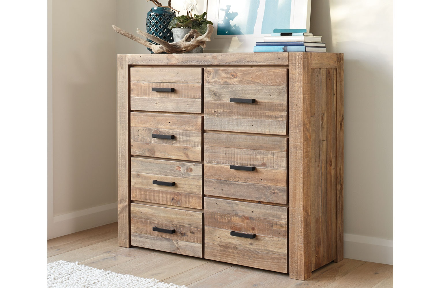 Coolmore 7 Drawer Tallboy by Stoke Furniture