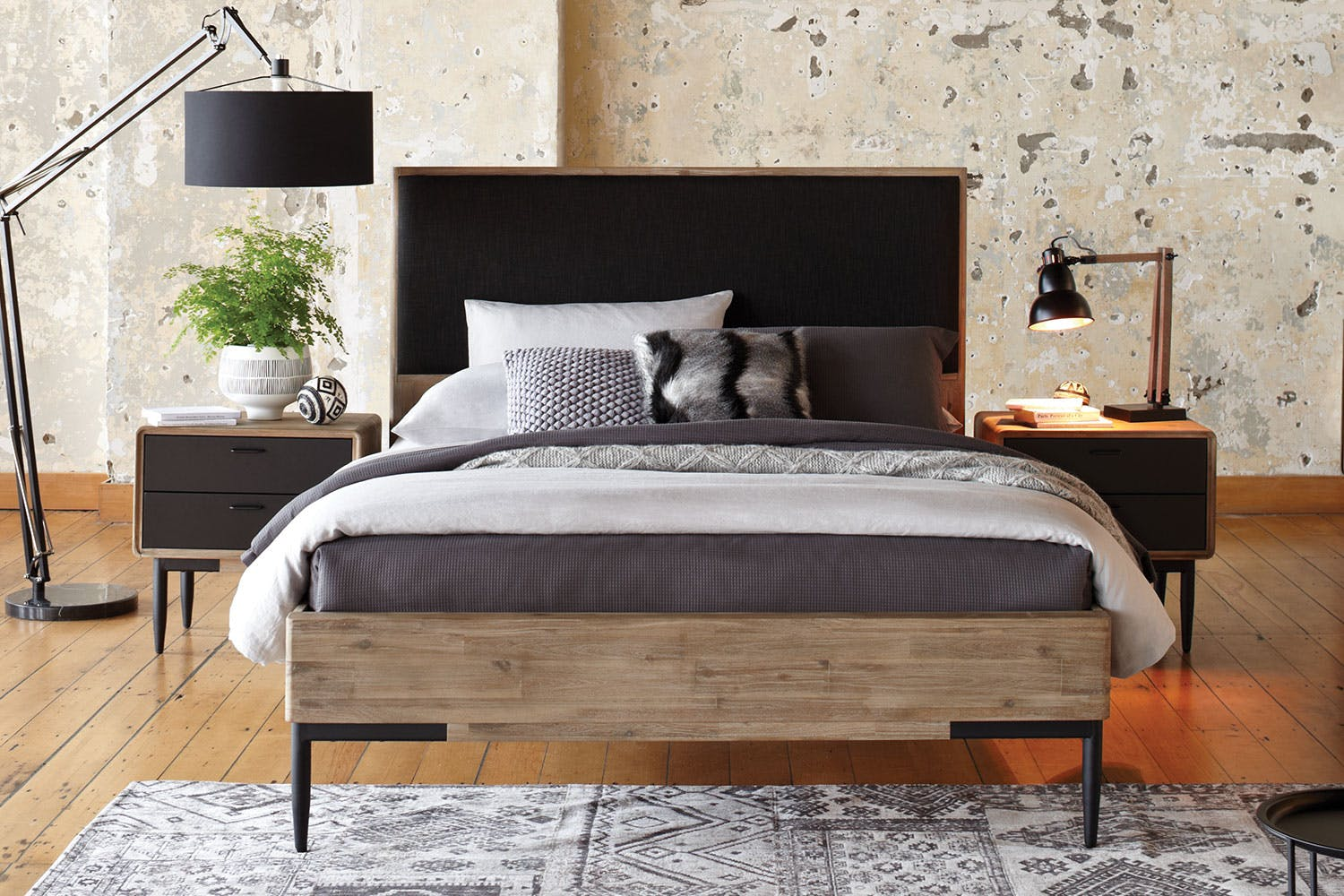 Alba King Bed Frame By John Young Furniture Harvey Norman New Zealand Manchester Steel Double Wishlist