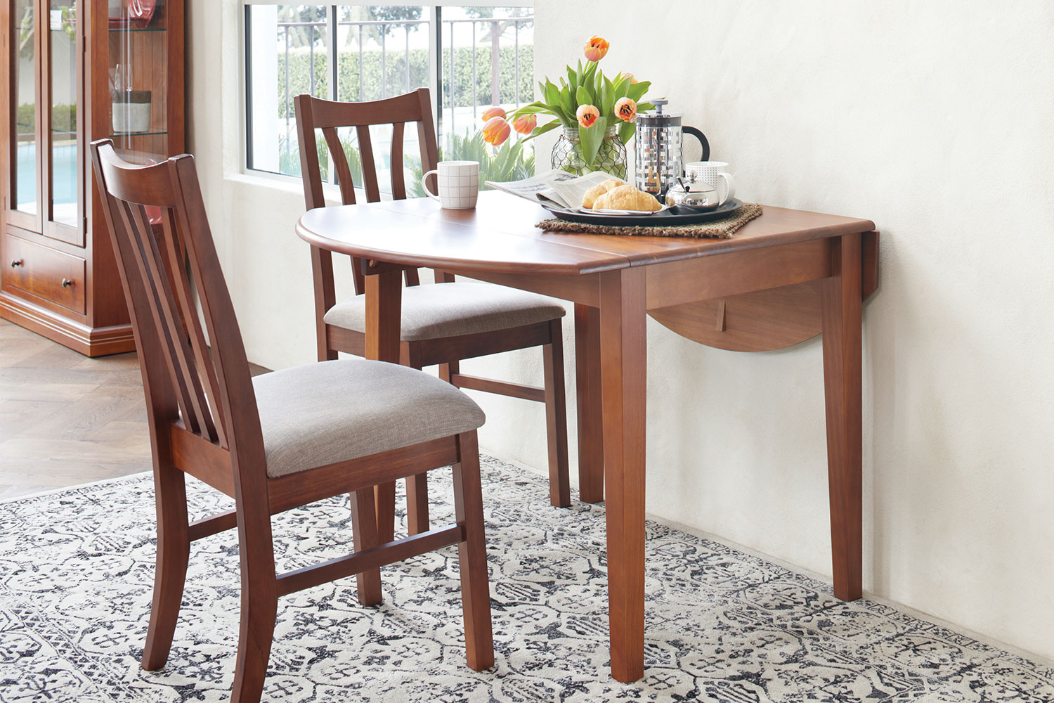 Waihi Drop Leaf Table by Coastwood Furniture Harvey Norman New Zealand