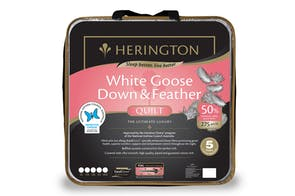 50/50 White Goose Down Duvet Inner by Herington