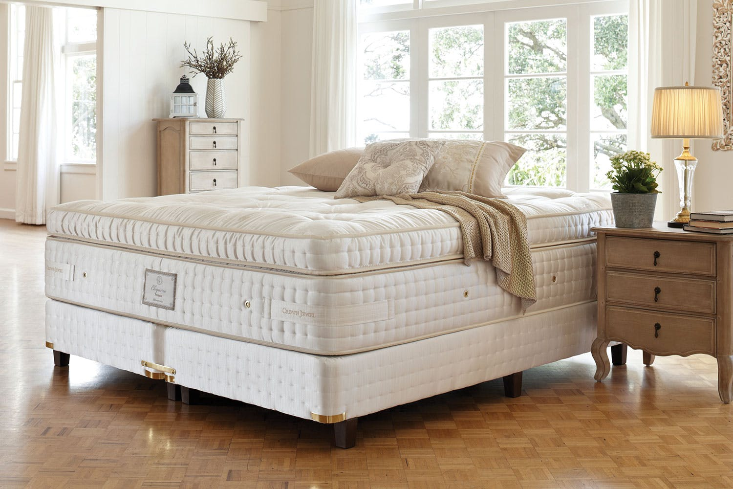 Provence Bedroom Furniture Provence Ultra Plush Queen Mattress By Crown Jewel Harvey Norman