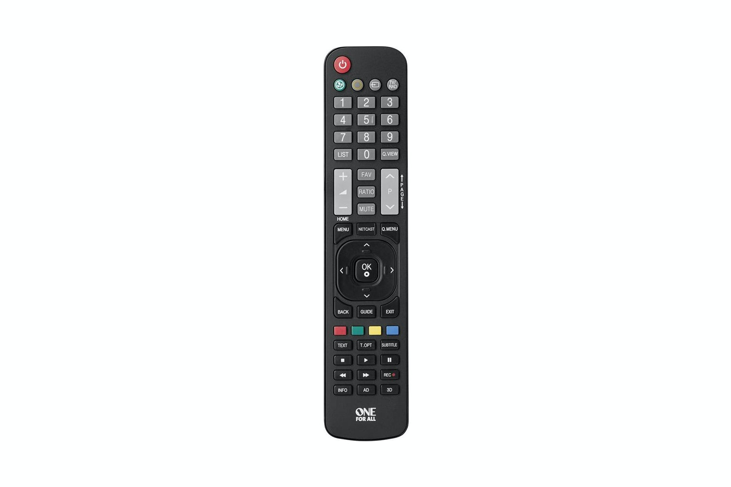 lg tv white. one for all lg tv replacement remote lg tv white