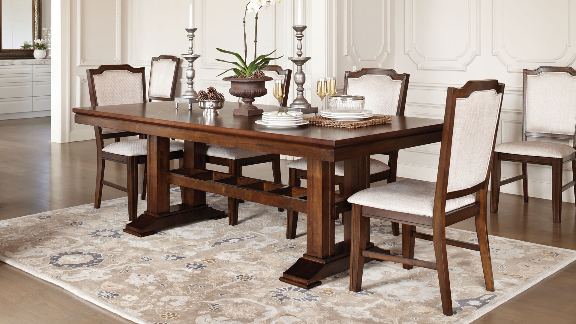 Windsor 7 Piece Dining Suite by Nero Furniture