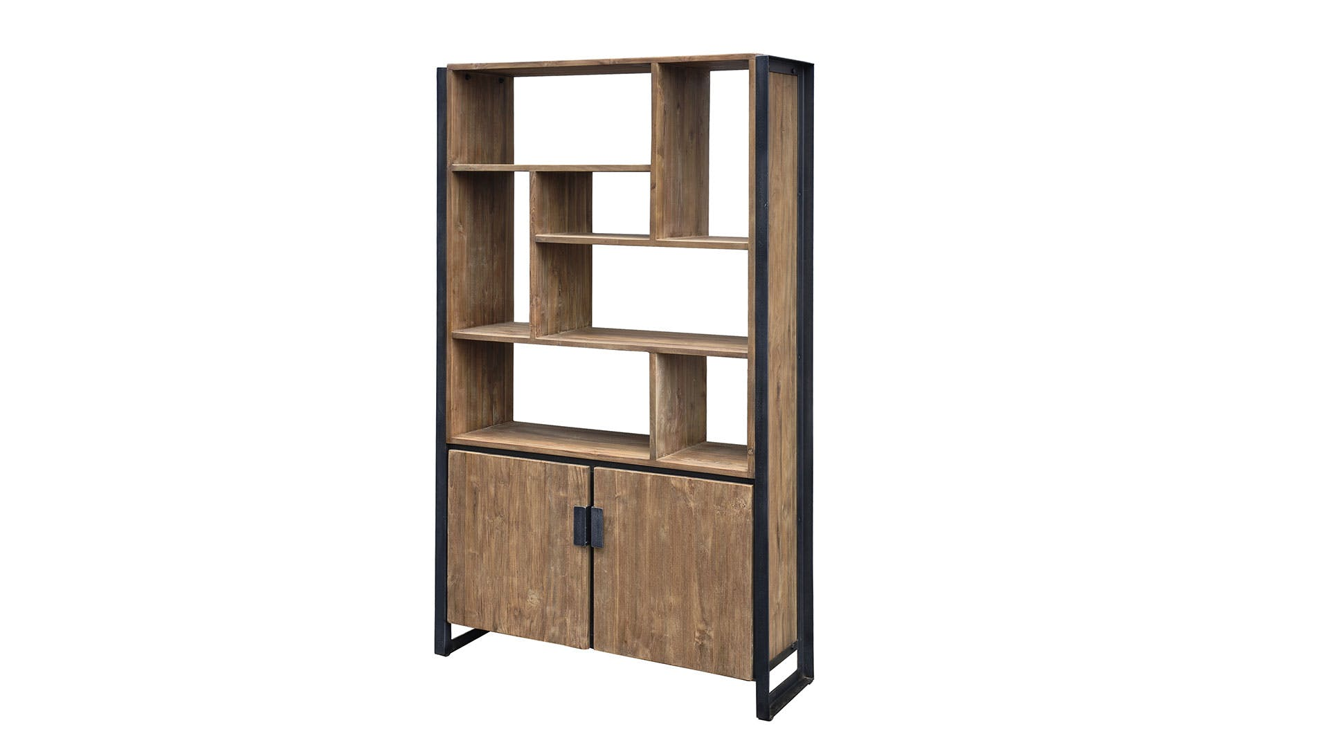Fendy Bookcase With 2 Doors By D Bodhi Collection