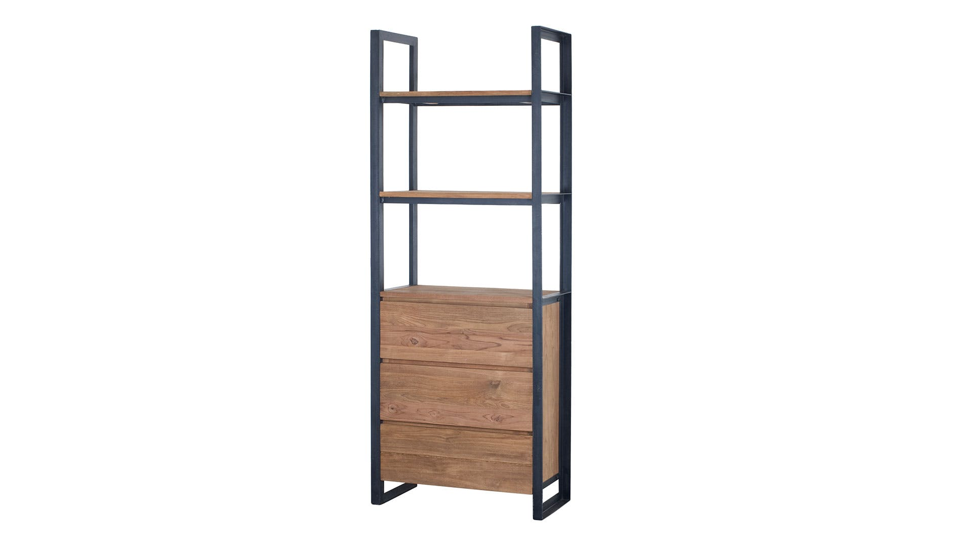 Fendy Bookcase With 3 Drawers By D Bodhi Collection
