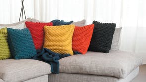 Kaikoura Feather Filled Cushion by Limon