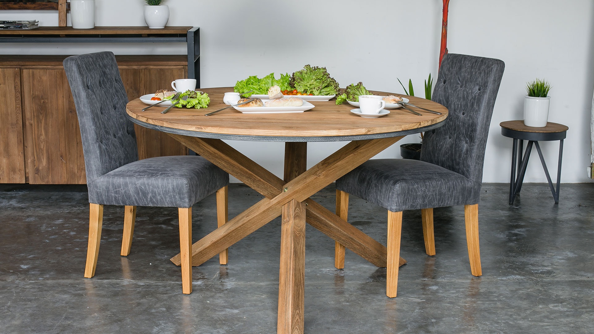 Fendy Round Dining Table by D-Bodhi Collection