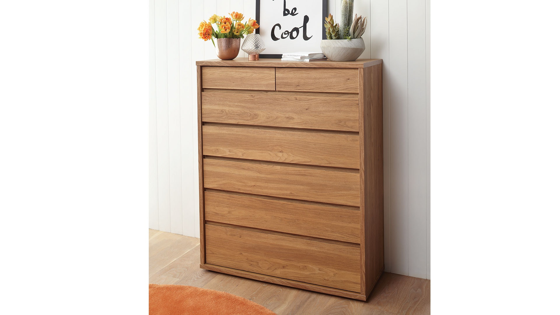 Boss 7 Drawer Tallboy by Platform 10