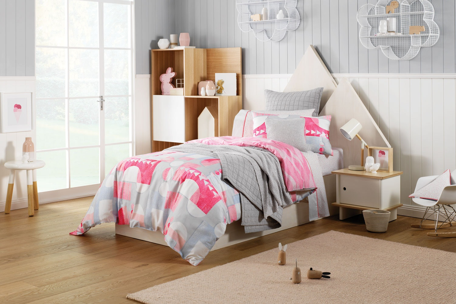 Amabel Sorbet Duvet Cover Set by Sheridan Kids