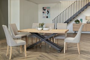 Bari 7 Piece Dining Suite by John Young Furniture