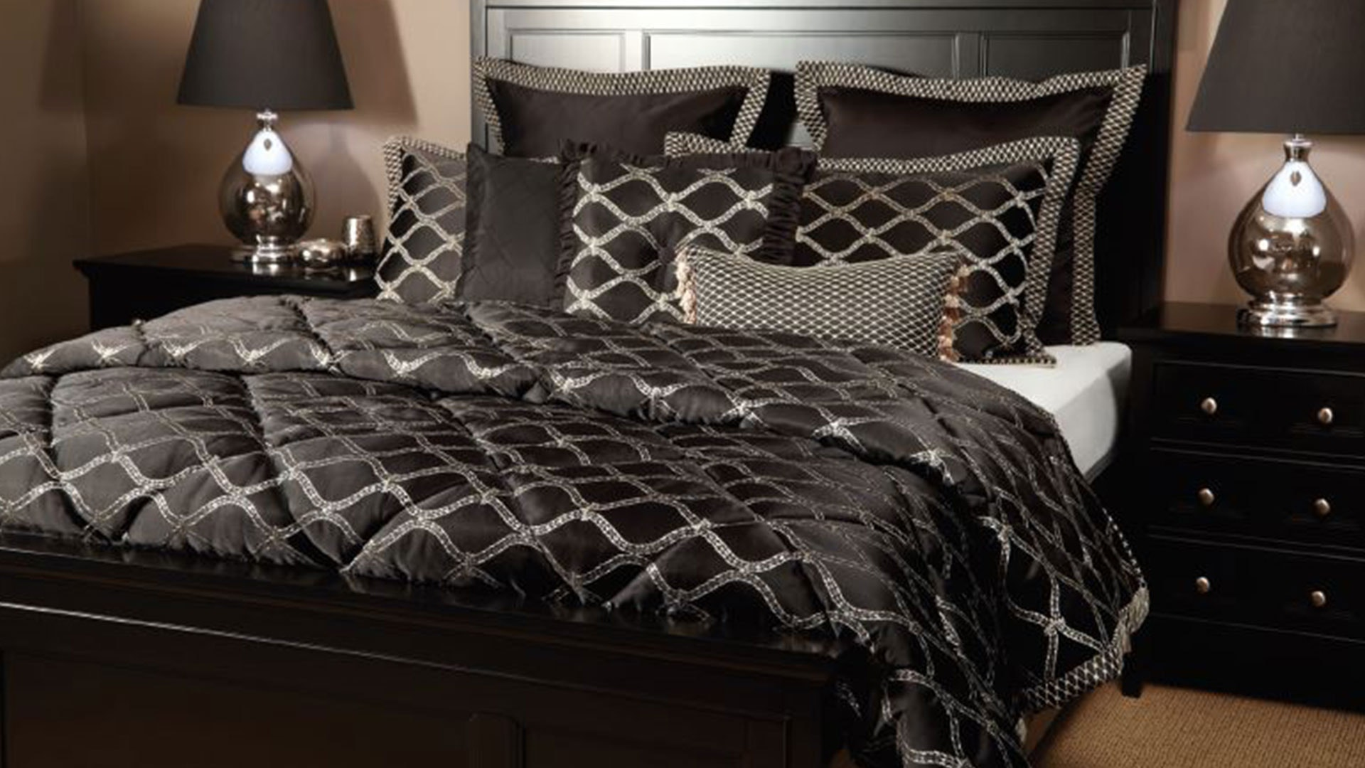 Hartley 7 Piece Comforter Set by Central Thread Grandeur