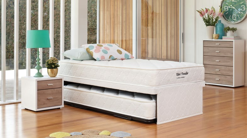 Kiwi King Single Trundle Bed by Englander