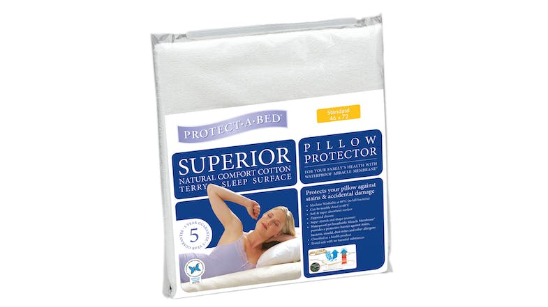 Superior Pillow Protector by Protect-A-Bed