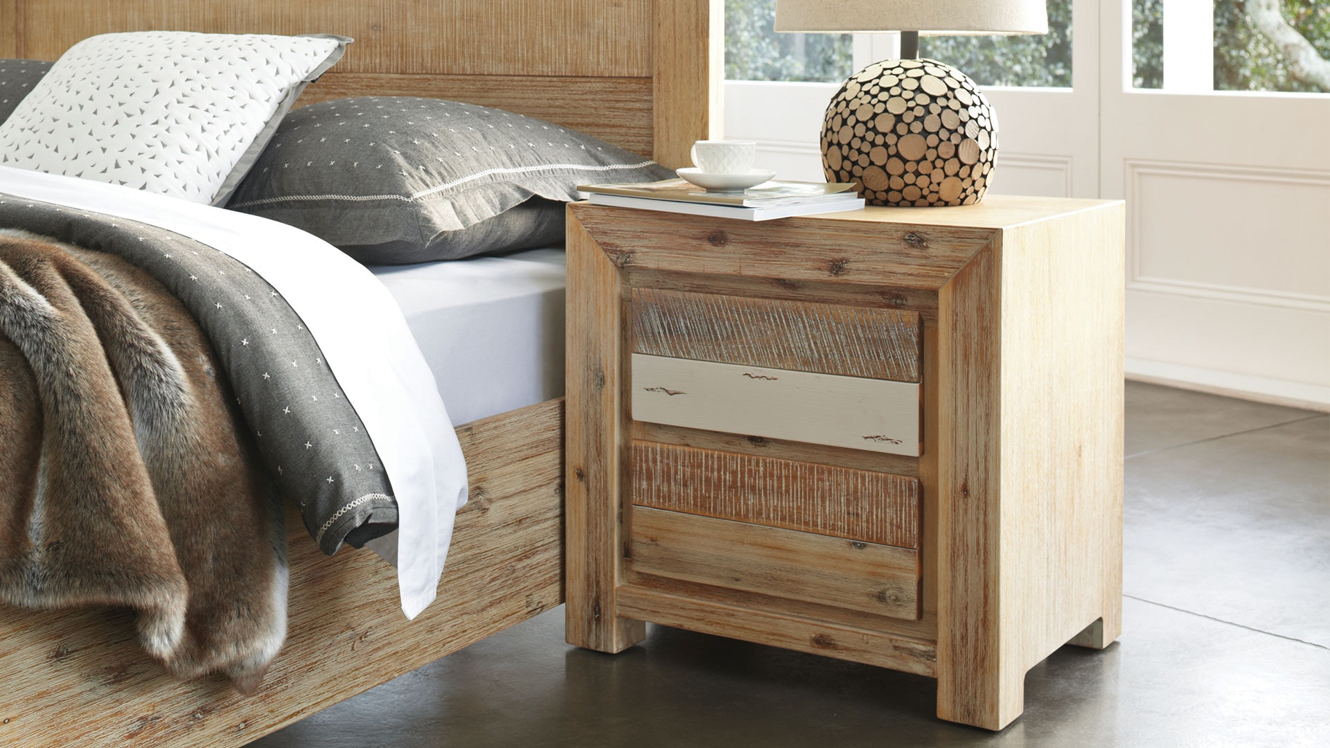 Tamworth Bedside Table by Vivin