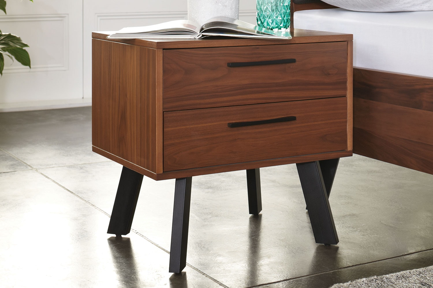 Ascola Bedside Table by John Young Furniture