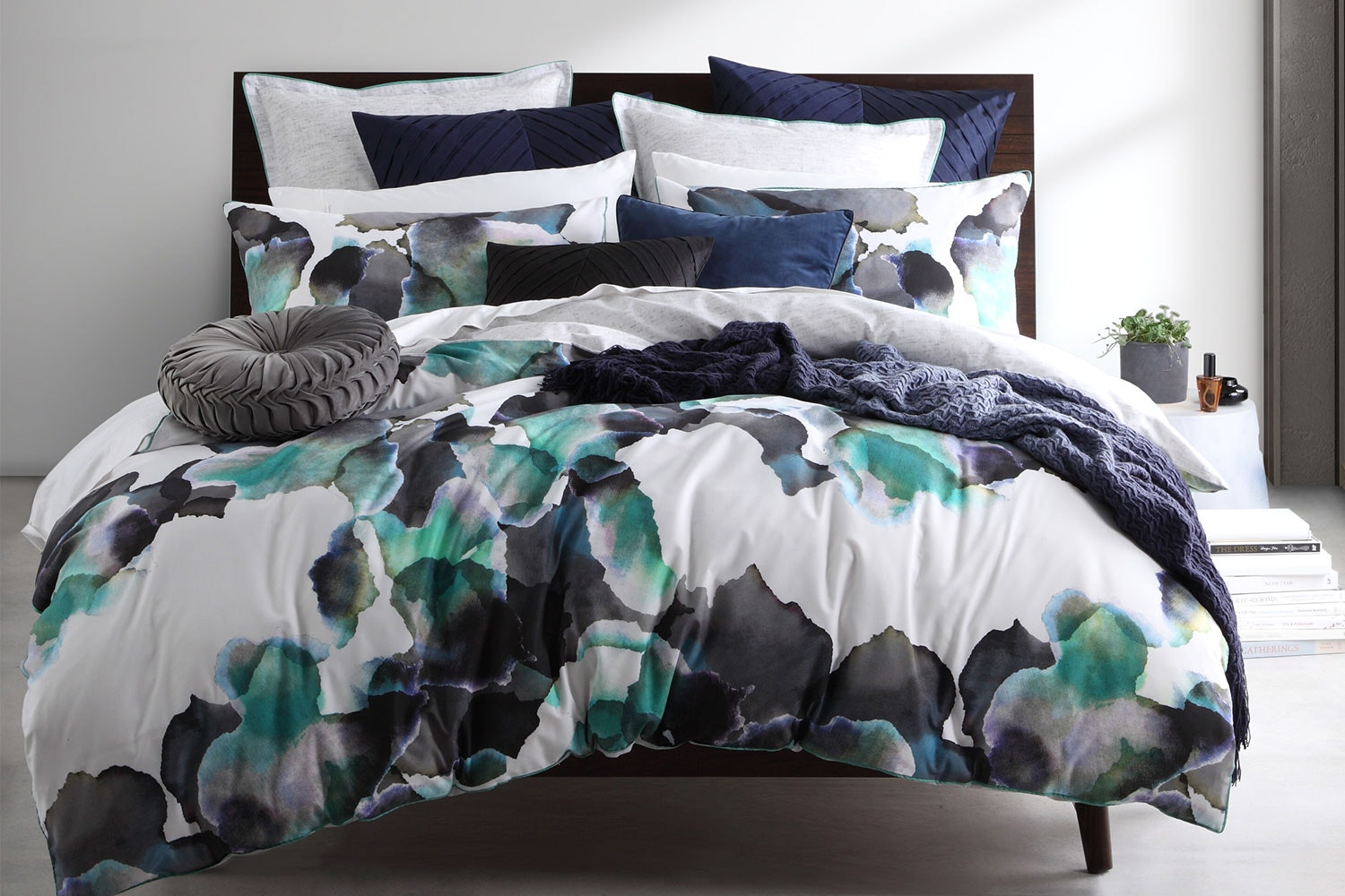 Breeze Jade Duvet Cover Set by Logan and Mason