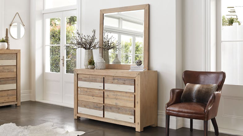 Tamworth Dresser and Mirror by Vivin