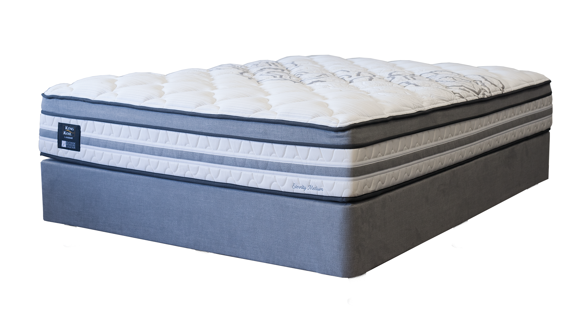 Eternity Medium Queen Bed by King Koil