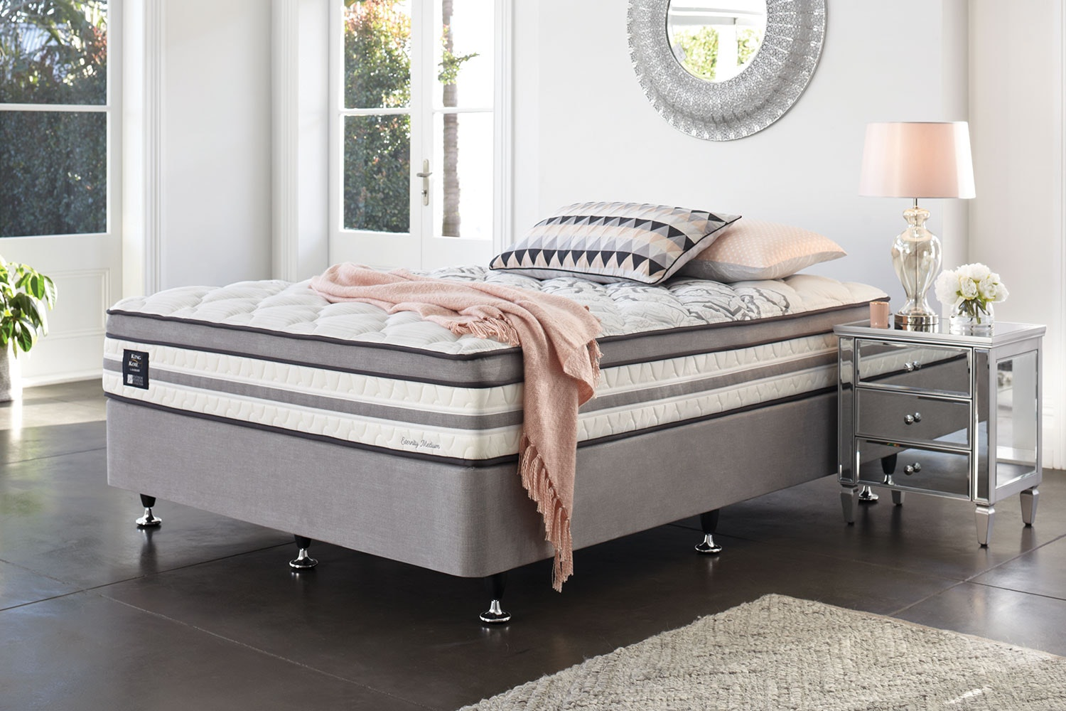 Eternity Medium Single Bed by King Koil