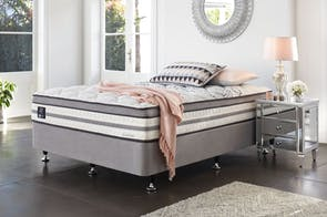 Eternity Medium Long Single Bed by King Koil