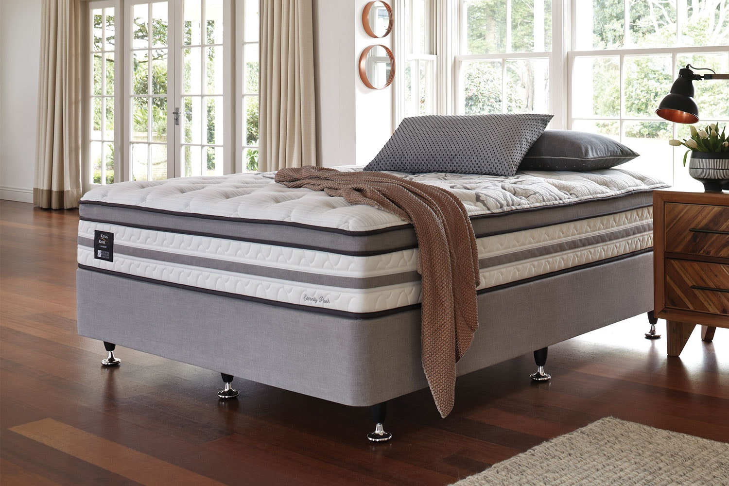 Eternity Plush Queen Bed by King Koil