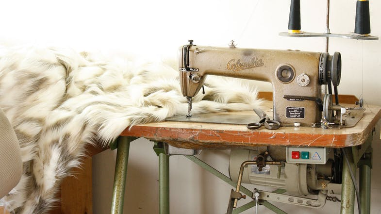 Faux Fur Throw Range by Heirloom