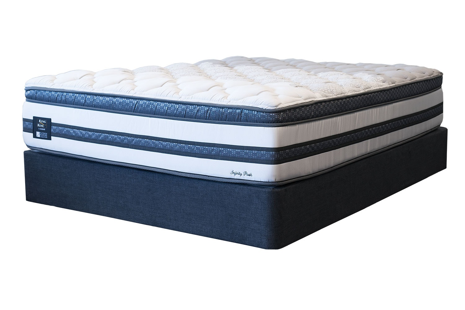Infinity Plush Single Bed by King Koil