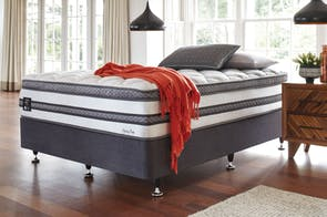 Infinity Plush Californian King Bed by King Koil