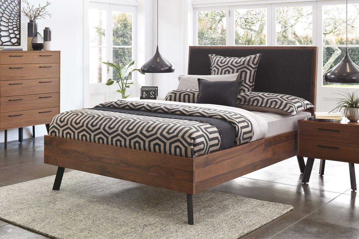 Ascola King Bed Frame by John Young Furniture