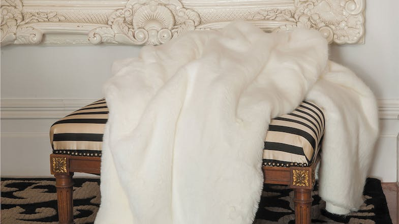Faux Fur Throw Range by Heirloom - Pola Bear
