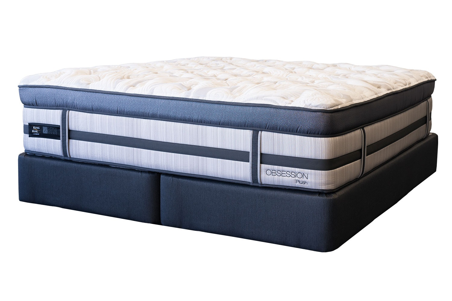 Obsession Plush Super King Bed by King Koil
