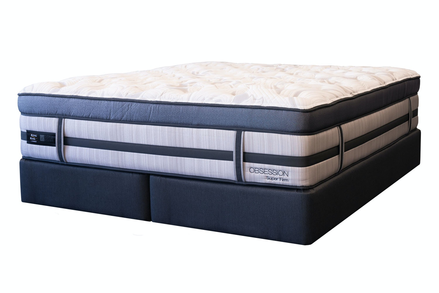 Obsession Super Firm King Bed by King Koil