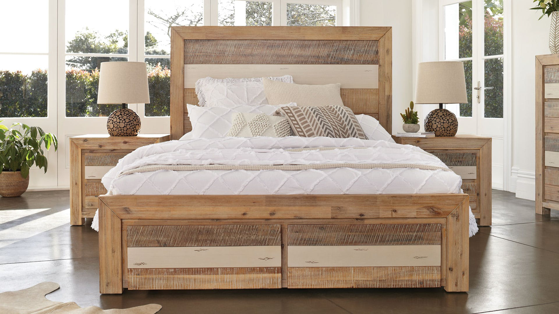 Tamworth Queen Bed Frame By Vivin | Harvey Norman New Zealand