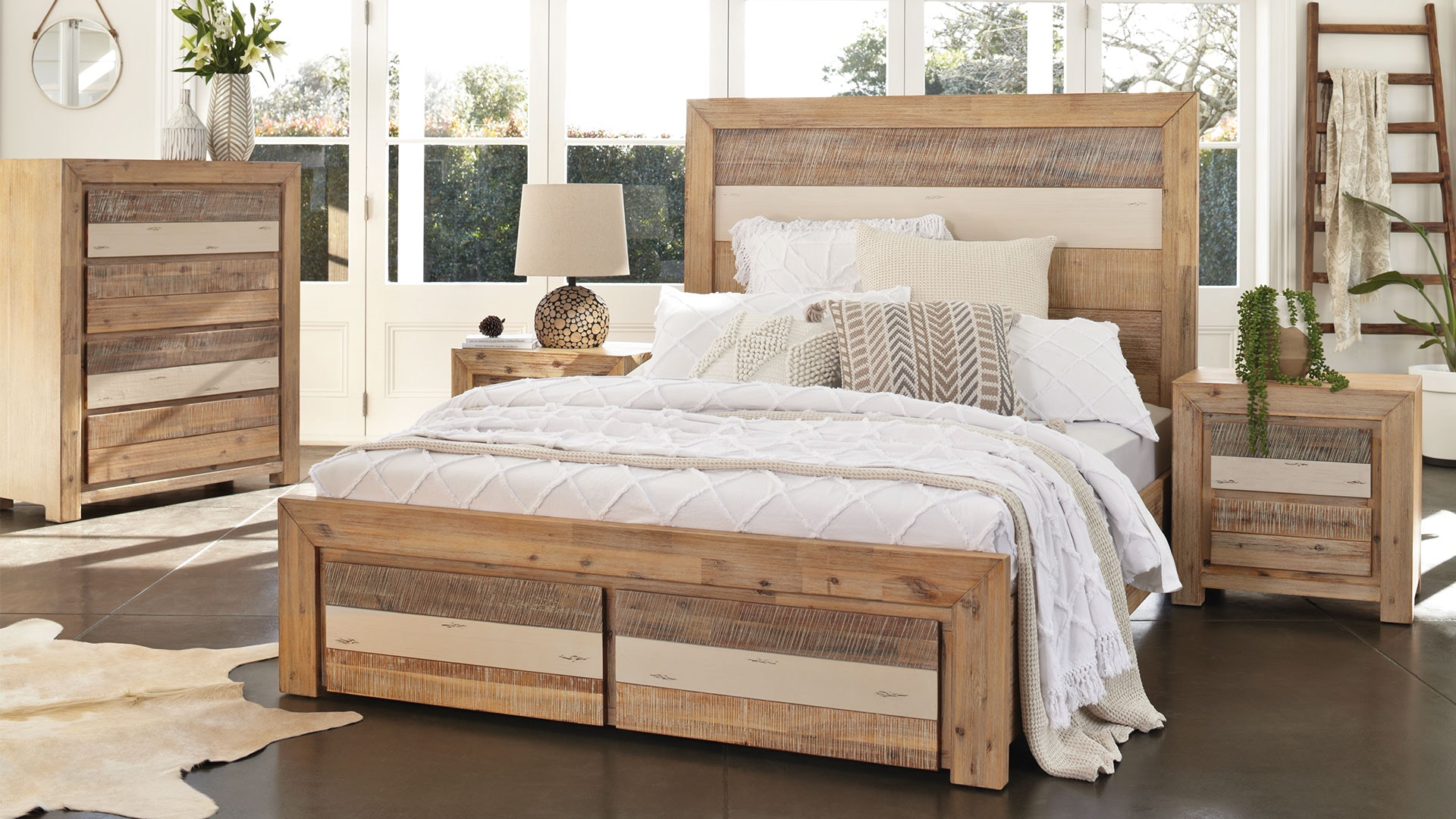 Tamworth King Bed Frame by Vivin