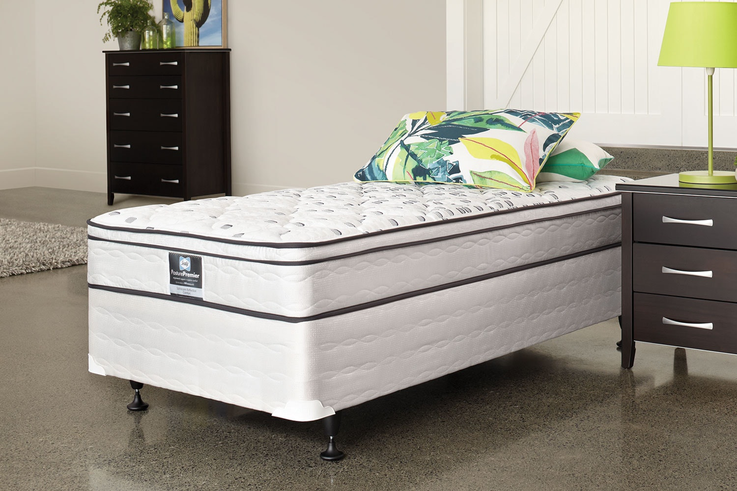 Spinecare Reflection Comfort Single Bed by Sealy